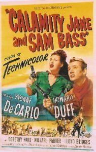 Calamity Jane y Sam Bass