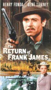 La venganza de Frank James (The return of Frank James)